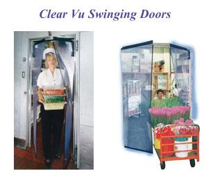 PVC swinging door  sc 1 st  CCI/Cool Curtain & PVC Door and Plastic Door